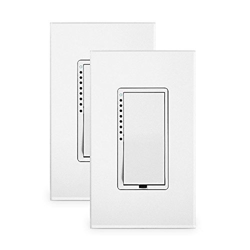 Insteon SwitchLinc Dimmer, (Dual-Group) High Wattage, White (2 Pack)