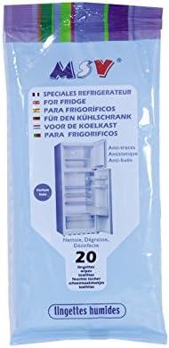 MSV Set Paquete De Toallitas para Limpieza De Nevera 20 Uds ...