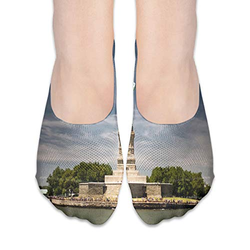 No Show Socks Statue of Liberty in New York Trendy Womens Low Cut Sock Boat Invisible Socks for Girl (Best Sneaker Stores In New York)