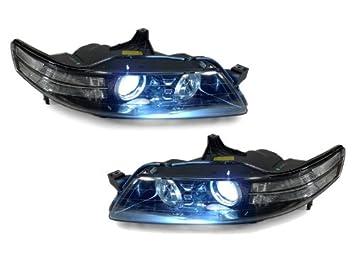 Amazoncom ACURA TL TYPES CLEAR CORNER BiXENON HID DS - Acura tl aftermarket headlights