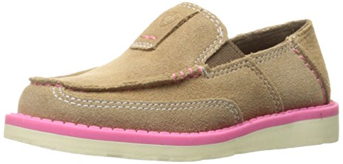 Ariat Kids Cruiser Slip-on Shoe, Dirty Taupe Suede, 9.5 M US Toddler