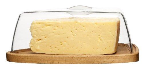Sagaform Oval Oak Cheese Dome by (Sagaform Cheese)