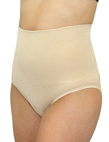 Leading Lady Women's Shapewear Brief with Tummy Control, Naturally Nude, X-Large