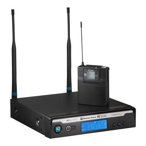 (Electro-Voice R300-L-A Uni-Directional Lapel Wireless Microphone System )