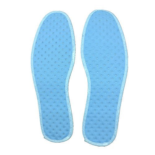 Disposable Breathable Insole Sweat-absorbent Shoe Pads,Pack of 5 Pairs by BIFINI (Image #2)