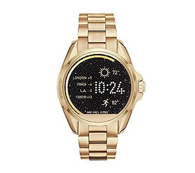 Michael Kors Access Goldtone Bradshaw Touchscreen Smartwatch, 45mm