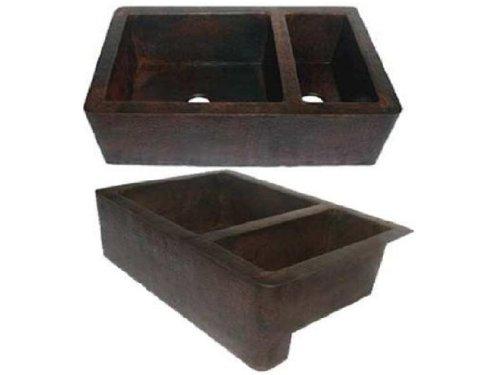 Copper Double Bowl Apron - 7