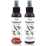 Best Natural Essential Oil Air Freshener Home Spray (2PK Vanilla Cinnamon)   Room Odor Eliminator Spray   Neutralize Bathroom Toilet Odors