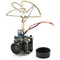 Super Mini Light AIO 5.8G 48CH 25mW VTX 520TVL 1/4 Cmos FPV Camera PAL/NTSC for QX90 QX95 E010