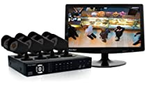 BRK PRO-DC881060019 8 Channel/8 Camera Wired H.264 1TB DVR Security System with 18.5 LCD Monitor