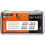 RAPTOR MIG ENDURANCE Silver Plated Contact Tip Kit Heavy Duty Assorted 0.023, 0.030, 0.035, 0.040, 0.6mm 0.8mm 0.9mm 1.0mm Binzel Style M6 20PC