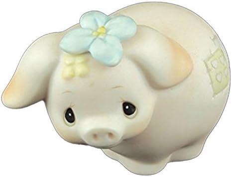 Precious Moments figurine, Animal Collection, Pig, pm e-9267f