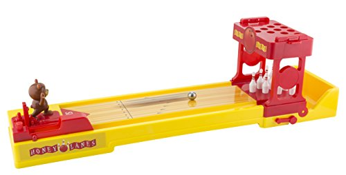 KOVOT Bear Bowling | Tabletop Bowling Game With Spring-Loaded Bear Bowler & Easy-To-Assemble Pins | Giant 23'' Lane by Kovot