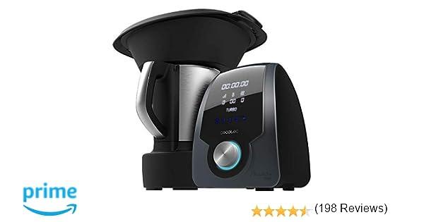 Cecotec Robot de Cocina Multifunción Mambo 7090. Capacidad 3.3L, Temperatura hasta 120ºC, Selección Grado a Grado, 10 Velocidades, Programable hasta ...