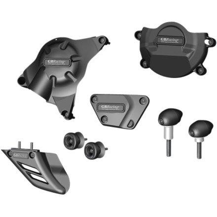 06-14 YAMAHA YZF-R6: GB Racing Protection Bundle With Bullet Frame Sliders