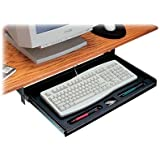 Exponent 56316 Under Desk Keyboard Drawer, Black