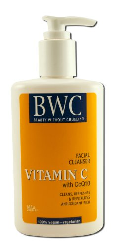 Bwc Facial Cleanser - Beauty Without Cruelty Organic Vitamin C With CoQ10 Facial Cleanser -- 8.5 fl oz