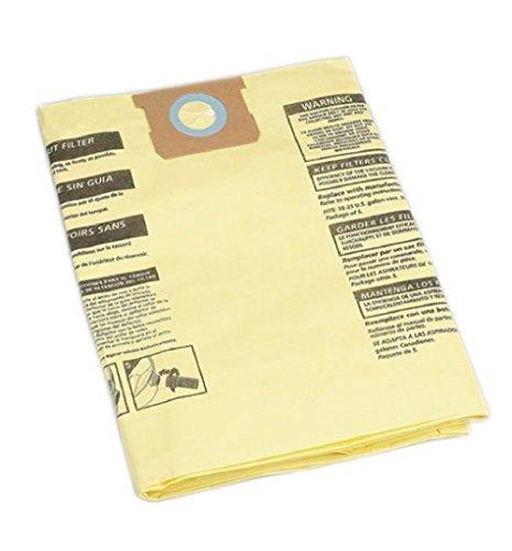 Shop-Vac 9067300 15-22-Gallon High-Efficiency Disposable Collection Filter Bag, (Shop Vac Filter Bag)