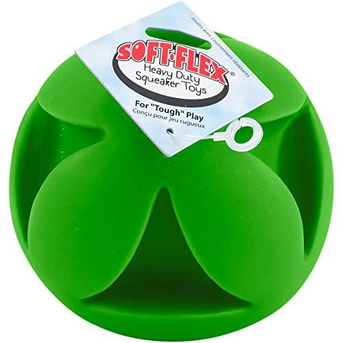 Soft-Flex Best Clutch Ball Dog Toy, 6-inch Teal