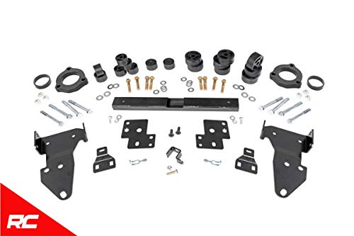 """Rough Country 3.25"""" Dual Lift Kit Compatible w 2015-2019 Chevy Colorado GMC Canyon Gas Body and Suspension System 924"""