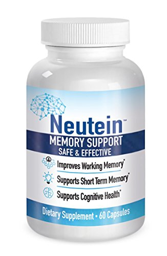 Cheap Naturally Improve Attention and Working Memory. Supports Short Term Memory – PhD Formulated Cognitive Health Support – Neutein