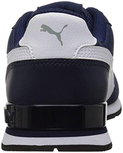 PUMA Unisex-Kids ST Runner V2 Mesh Sneaker, Peacoat White, 2 M US Little Kid by PUMA (Image #2)