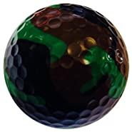 GBM Golf Miscellaneous Novelty 3 Ball Sleeve, Camo