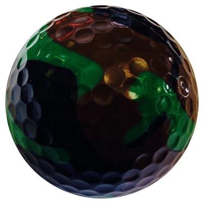 GBM Golf Miscellaneous Novelty 3 Ball Sleeve, Camo