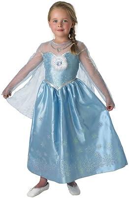Rubies`s - Disfraz infantil de Elsa Deluxe (888683-M): Amazon.es ...