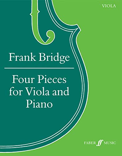 Four Pieces for Viola and Piano: Score & Part (Faber Edition)