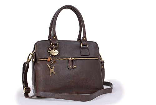 Leather Collection Victoria Brown Shoulder Vintage Tote Large Catwalk YpTOBqfO