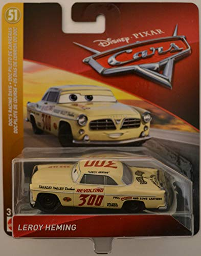 Disney/Pixar Cars Leroy Heming Doc's Racing Days Series 1:55 Scale Collectible Die Cast Model Car