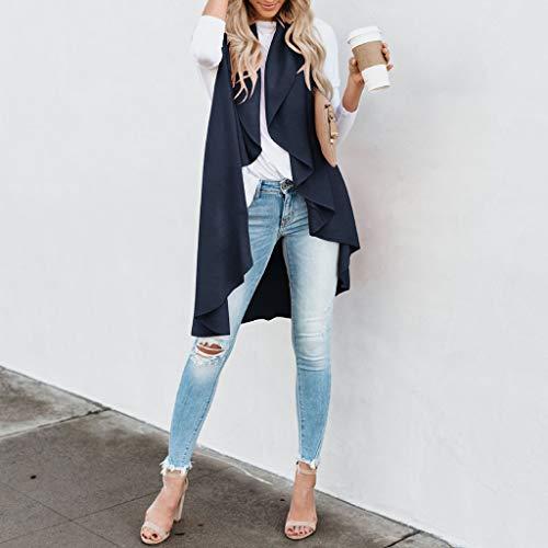 HYIRI Womens Wild Irregular Cardigan Top Jacket at Amazon ...