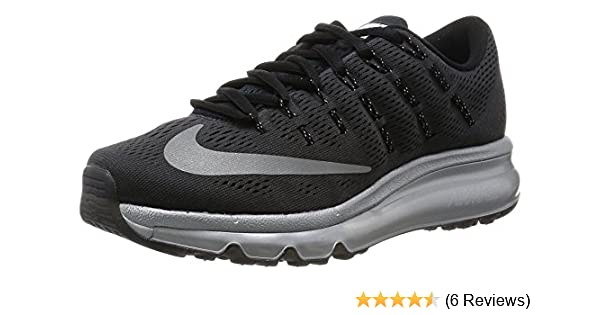 100% authentic 9c38c c7b62 Amazon.com  NIKE Womens WMNS Air Max 2016 PRM, BlackReflective  Silver-RFLCT Silver  Fashion Sneakers