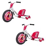 Razor 20036559 Flash Rider 360 Drifting Trike Ride-On Tricycle, Red (2 Pack)