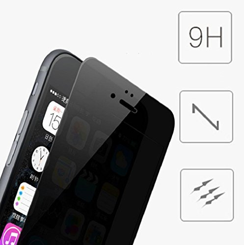 Boxlegend Privacy Anti-Spy Tempered Glass Screen Protector For iphone 5 5s 5c