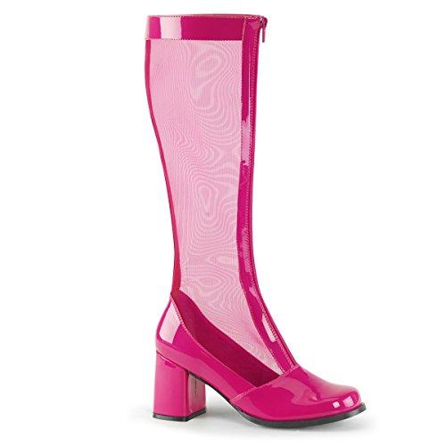 Funtasma Women's Gogo 307 Pink Fashion Boot 8 -