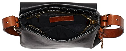 Fossil Women's Cross Harper Bag Body Black 8Brq8w