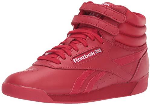 Reebok Women's F/S HI Spirit Sneaker, Excellent red/White, 6.5 M US (Shoes Top High Aerobic)