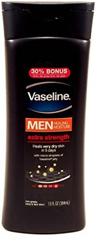 Body Lotions: Vaseline Men Extra Strength