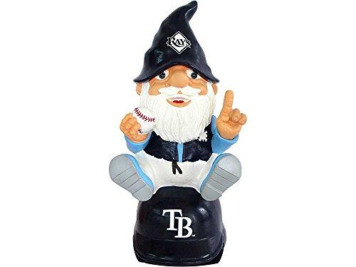 MLB Tampa Bay Rays Sitting on Logo Gnome, - Bean Ray
