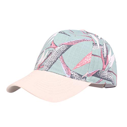 hositor Hats for Men, Unisex Summer Baseball Cap Cap Print Leisure Vacation Outdoor Hat