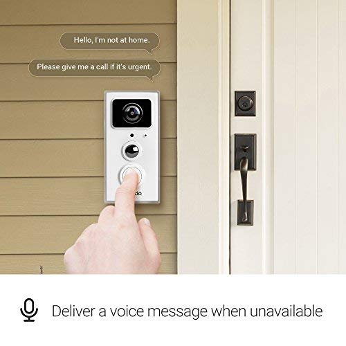 Zmodo SD-H2101 Smart Video Doorbell, white by Zmodo (Image #2)