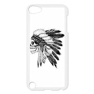 iPod Touch 5 Case White Native American 1 PZO Plastic DIY Phone Case