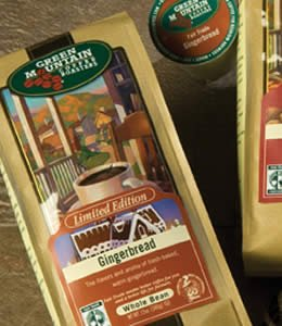 Green Mountain Coffee Gingerbread 10oz Ground