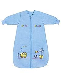 Slumbersafe Baby Sleeping Bag Long Sleeves 2.5 Tog - Choo Choo, 6-18 months/MEDIUM