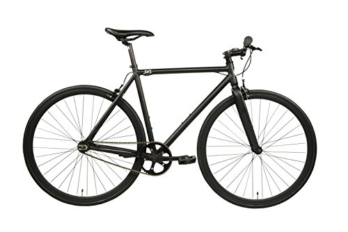 SXL Expressway Urban Track Bike Fixed/Single Speed (Matte Black, Medium) (Best Urban Commuter Bike)