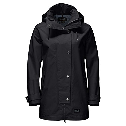 Raincoat Black Jack Jack Wolfskin Ladies b6Y7fgyv