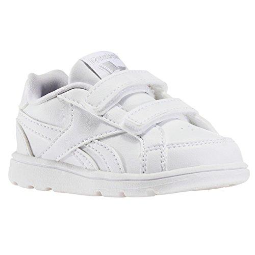 Reebok Royal Prime Alt, Zapatillas de Deporte Unisex Niños Varios colores (White /         Silver)