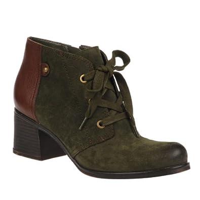Amazon.com | Naturalizer Women's Ranger, Green Bota Oil Leather/Coffee